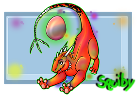 Chromatic Draken Squiby by KatrinaBonebrake