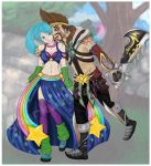 Sona x Draven by Heir-Of-Avarice