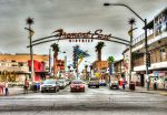 Fremont Street Las Vegas by Gallery-North