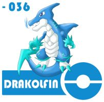 36 - Drakolfin by SoranoRegion