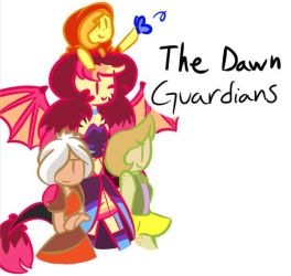 Smal Doodle Of The Squad by LoveLizeSwe
