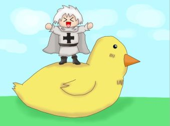 APH - Prussia and Gilbird by NeyixNuchika