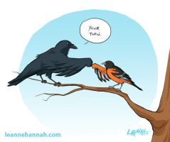 Go Bmore Birds 2013 by stratosmacca