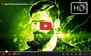 Top Photoshop Actions [ Youtube] List #16 by hemalaya