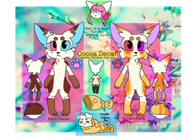 Cocoa Decaf Reference Sheet September 2017 by SushPuppy