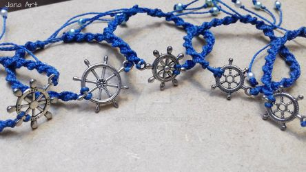 Macrame Bracelet Anchors by Mawee79