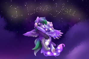 The Stars Spell It Out (COM) by Naughty-Savage