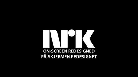 NRK On-screen Redesigned by CataMetro
