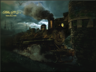The Old Train From Nowhere by Sallinillas