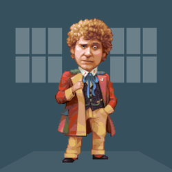 Doctober - 6th Doctor by JINNdev
