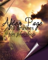 After Page Brushes by Neveryph-stock