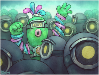 ARMS - Helix and Cell by Louivi