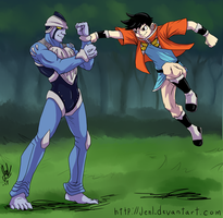 Beet the Vandel Buster - Spar of Great Warriors by JenL
