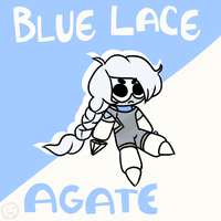 Blue Lace Agate Gemling [Contest Entry] by Yetember