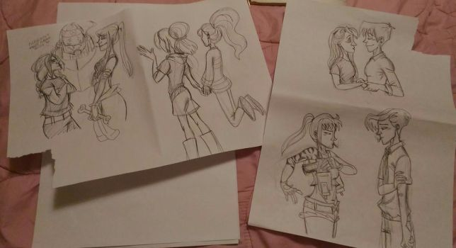 Sketches by DitaDiPolvere