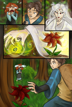 ArtTrade -Magic Flowers + Other Trustworthy Things by CoattailsOfJustice