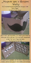 Wallet - Mustache by FreckledAndFearless