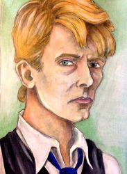 David Bowie  by j-alex-darr