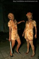 Silent Hill Nurses 1 by Stickfishies-Stock