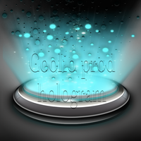 hologram icon par coolio by Meophotographie
