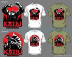 Kaiju shirt sample by DCON