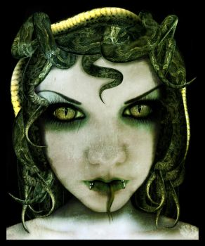 Medusa by Autopsyrotica-Art