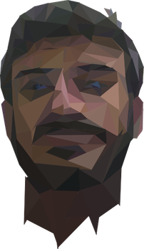 me , Low Poly Art by musabhussain