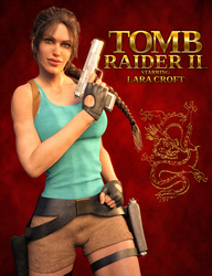 Tomb Raider 2 - Poster remake by tigerste