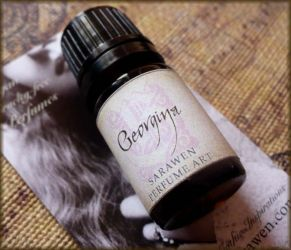 Georgina Perfume Oil by Sarawen by SarawenArt