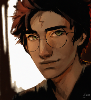 Harry Potter by StaticColour