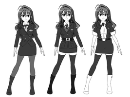 Shiori's Costume Options by wbd