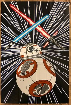 BB8 Duct Tape Art by DuctTapeDesigns