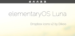 elementaryOS Dropbox icons v2 - biggest by Dikoo