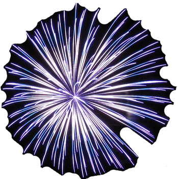 Firework Partially Cut Out IMG 0828 by TheStockWarehouse