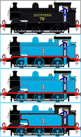 'Realistic Style' Thomas The Tank Engine (V2) by Princess-Muffins