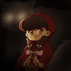 Little Red Riding Hood by raburine