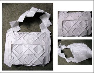 Sewn Paper Bag by mistymidnight