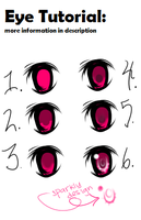 Quick Eye Coloring Tutorial by pomelonian