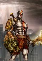 God of War by alexasrosa