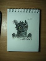 Toothless by AJIENA