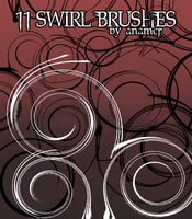 Swirl Brushes by anamcr