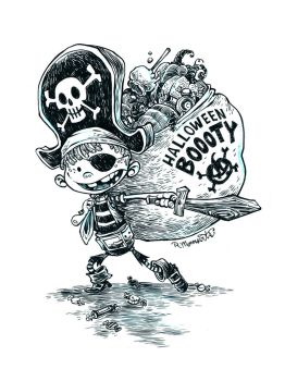 Pirate Kid by RobbVision