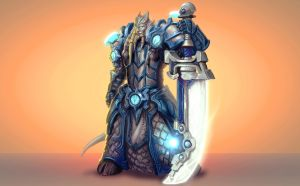 ...Commission: Draenei Paladin II... by ShadowPriest