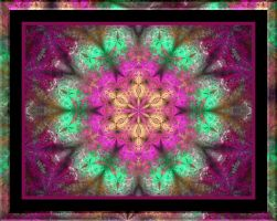 Floral Shrubbery Framed by MzKitty45601
