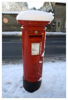 Icing on the post box by jonnymorris