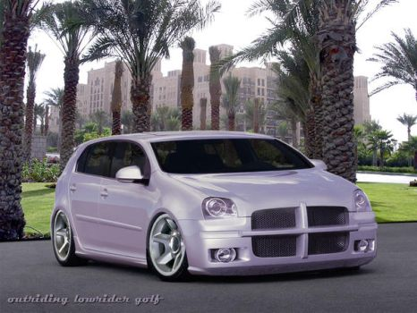 virtual tuning: lowrider golf by OUTRIDING