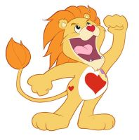 Brave Heart Lion by Hyaroo