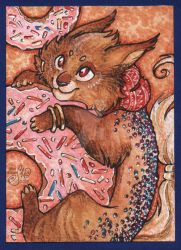 ACEO card for Nepook