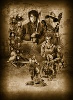 The Hobbit : An unexpected Journey by sahinduezguen