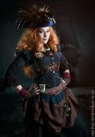 Steampunk Pirate by MADmoiselleMeli